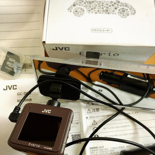ケンウッド(KENWOOD)のドライブレコーダー 中古品 JVC GC-DK3-T(車内アクセサリ)