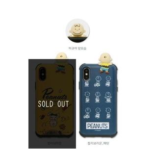 スヌーピー(SNOOPY)のスヌーピー チャーリーブラウン ギャラクシー Galaxy S10Plus (Androidケース)
