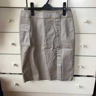 トランスワーク(TRANS WORK)のタイトミニスカート(ひざ丈スカート)