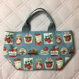 JaneMarple - JaneMarple strawberrylabel scarf トートバッグ