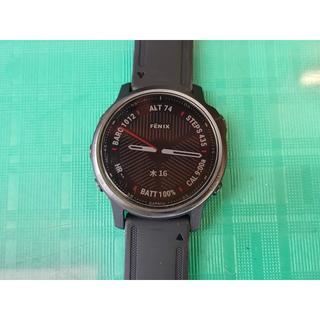 ガーミン(GARMIN)のGAMIN fenix 6s sapphire +替えベルト2本(腕時計(デジタル))