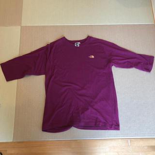 ザノースフェイス(THE NORTH FACE)のノースフェイス 5部丈Tシャツ サイズXL(Tシャツ/カットソー(半袖/袖なし))