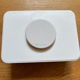 ムジルシリョウヒン(MUJI (無印良品))のsarasa design ウェットティッシュケース 白(容器)