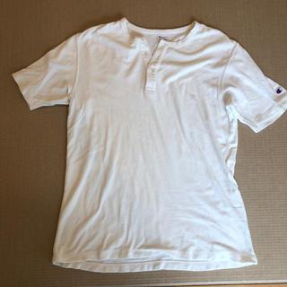 チャンピオン(Champion)のチャンピオン ヘンリーネックTシャツ Lサイズ(Tシャツ/カットソー(半袖/袖なし))