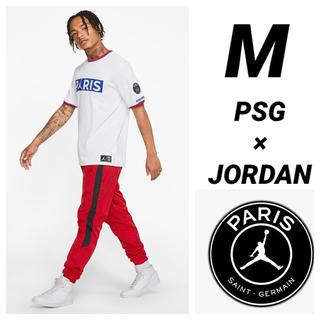 ナイキ(NIKE)のPSG JORDAN NIKE 半袖Tシャツ Mサイズ(Tシャツ/カットソー(半袖/袖なし))