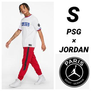 ナイキ(NIKE)のPSG JORDAN NIKE 半袖Tシャツ Sサイズ(Tシャツ/カットソー(半袖/袖なし))