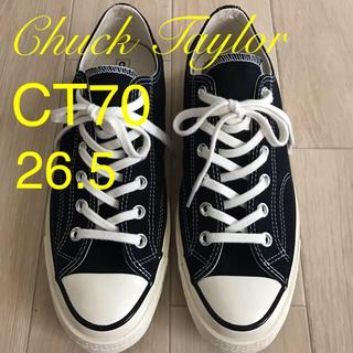 コンバース(CONVERSE)のコンバース CT70 26.5 BLACK(スニーカー)