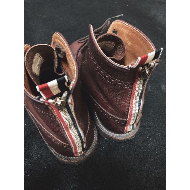 THOM BROWNE(トムブラウン)のThom Browneトムブラウン ウィングチップ ブーツ メンズの靴/シューズ(ブーツ)の商品写真
