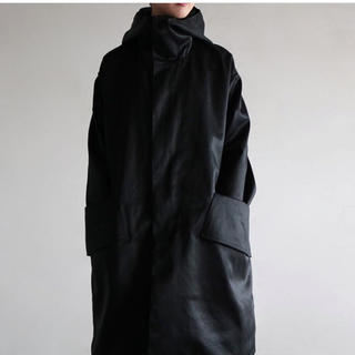 COMOLI - SOUMO 定番コート 黒 サイズ2