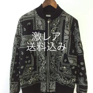 サカイ(sacai)のオールドパーク bandana flight jacket(フライトジャケット)