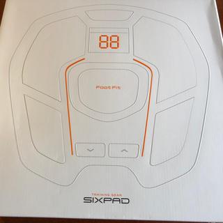 シックスパッド(SIXPAD)の新品 MTG SIXPAD Foot Fit シックスパッド フット(ボディケア/エステ)