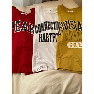 ニコアンド(niko and...)のTシャツ 三枚セット(Tシャツ(半袖/袖なし))