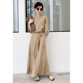 アパルトモンドゥーズィエムクラス(L'Appartement DEUXIEME CLASSE)のアパルトモン:Linen Madam Dress(その他)