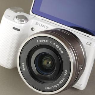 Canon - 自撮り液晶モニター★Wi-Fi機能搭載★ミラーレス NEX-5R レンズセット