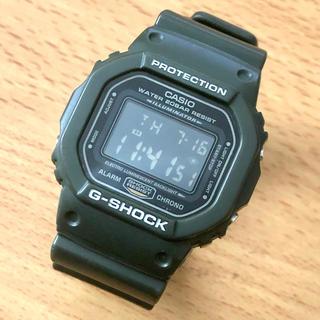 ジーショック(G-SHOCK)のDW-5600FS-3JF G-SHOCK HERO キムタク着用 モスグリーン(腕時計(デジタル))