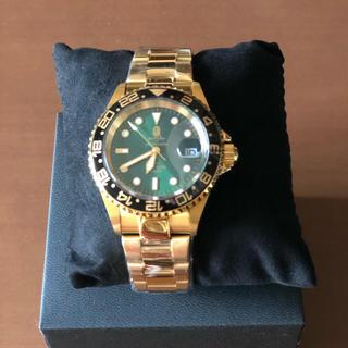 アベイシングエイプ(A BATHING APE)のBAPE Bapex type2 ゴールド(腕時計(アナログ))
