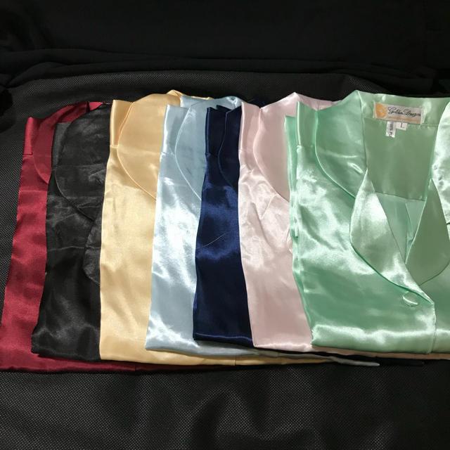 レディース シルク100% パジャマ 絹 レディースのルームウェア/パジャマ(パジャマ)の商品写真