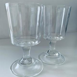 アッシュペーフランス(H.P.FRANCE)のAstier de Villatte ワイングラス ペア(グラス/カップ)