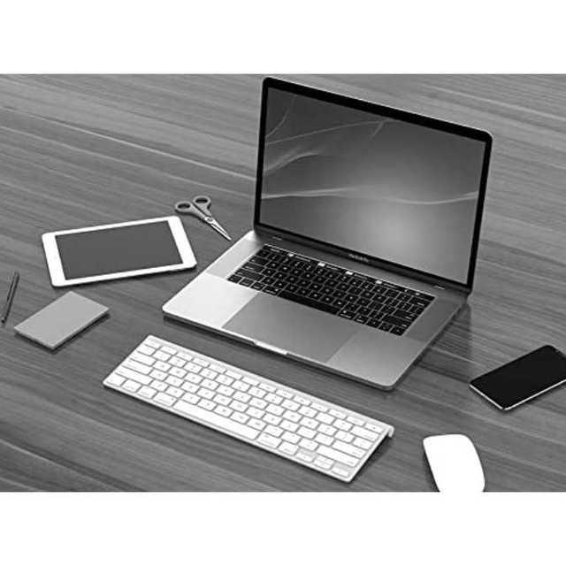 ノートパソコンスタンド 9段階調整可能 スマホスタンド付き 折り畳み式 黒 スマホ/家電/カメラのPC/タブレット(その他)の商品写真