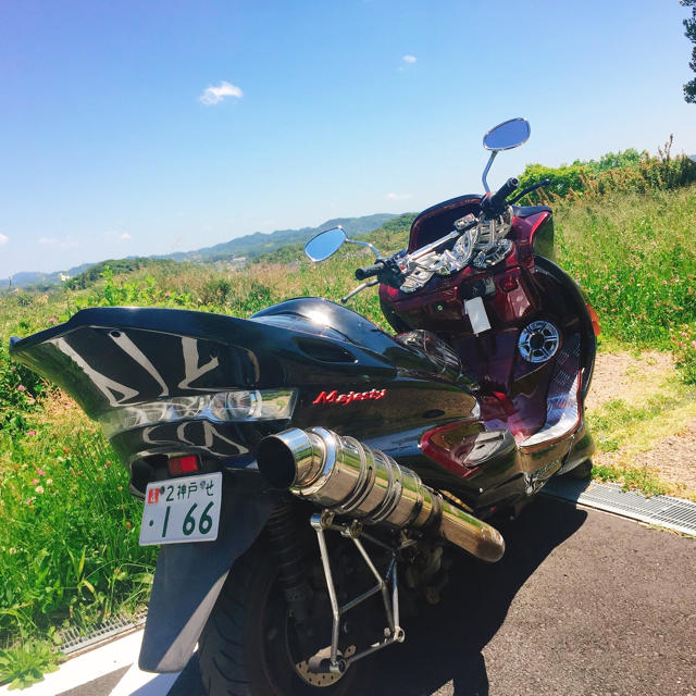 マジェスティ250 自動車/バイクのバイク(車体)の商品写真