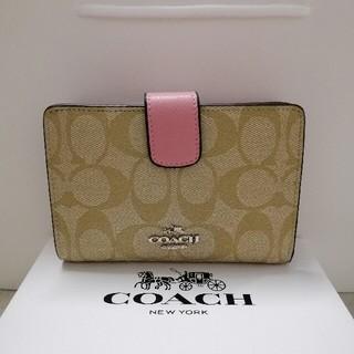 COACH - 新品COACH(コーチ)の二つ折り財布   53562