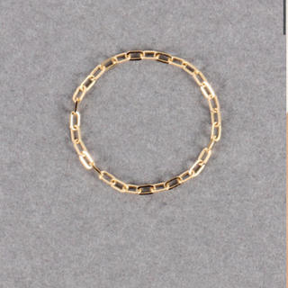 ビューティアンドユースユナイテッドアローズ(BEAUTY&YOUTH UNITED ARROWS)の【レイ】K18コバンチェーンピンキーリング S(リング(指輪))