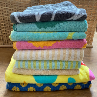 マリメッコ(marimekko)のマリメッコ  などバスタオル 9枚セット(タオル/バス用品)