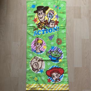 トイストーリー(トイ・ストーリー)のディズニー ピクサー トイストーリー4 フェイスタオル (タオル/バス用品)