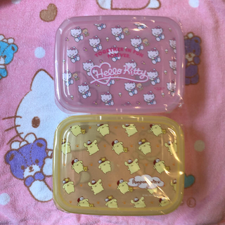 サンリオ(サンリオ)のキティちゃん ♡ ポムポムプリン ♡ タッパー(容器)