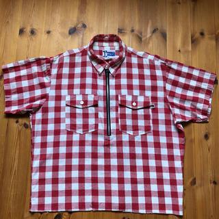 ポストオーバーオールズ(POST OVERALLS)のpost overalls  半袖チェックシャツM(シャツ)