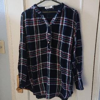 ソルベリー(Solberry)のソウルベリー チェックブラウス チェックシャツ 大きいサイズ(シャツ/ブラウス(長袖/七分))