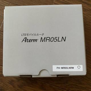 エヌイーシー(NEC)のAterm MR05LN   MS05LN(PC周辺機器)
