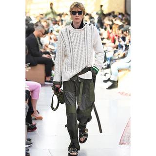サカイ(sacai)のsacai 20ss fabric combo pants(ワークパンツ/カーゴパンツ)