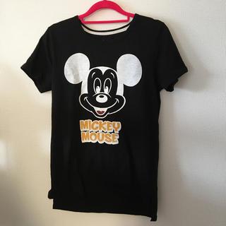 ミッキーマウス(ミッキーマウス)の❁︎ミッキーTシャツ❁︎(Tシャツ(半袖/袖なし))