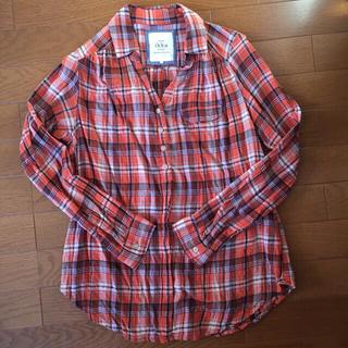 イッカ(ikka)のikka*薄手チェックシャツ(シャツ/ブラウス(長袖/七分))