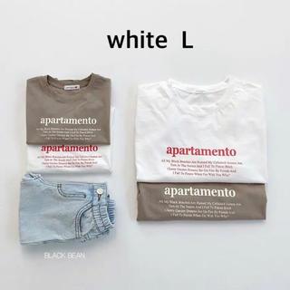 新品 blackbean letter t レターt 韓国子供服 100 110(Tシャツ/カットソー)