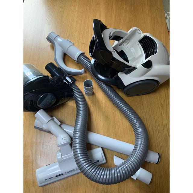SHARP(シャープ)のシャープ掃除機 SHARP EC-CT12 スマホ/家電/カメラの生活家電(掃除機)の商品写真
