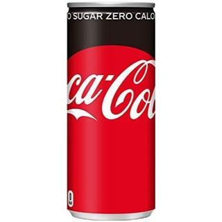 コカコーラ(コカ・コーラ)の迅速発送 未開封 コカコーラ ゼロ 250ml缶 ×30本(1箱)(その他)