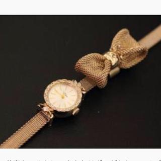 アガット(agete)の大幅値下げ!アガット時計リボンチャーム&ベルト(腕時計)