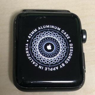 アップルウォッチ(Apple Watch)のApple Watch 第2世代 42mm(腕時計(デジタル))