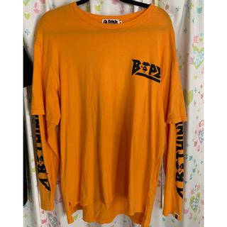 アベイシングエイプ(A BATHING APE)のbape (Tシャツ(長袖/七分))