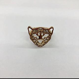エイチアンドエム(H&M)のヒョウ 豹 リング 指輪(リング(指輪))