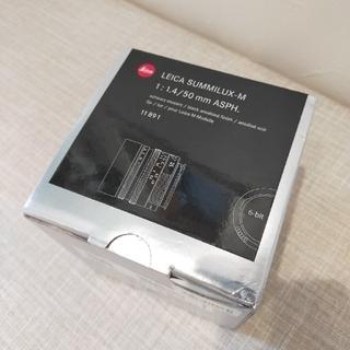 ライカ(LEICA)のSummilux-M 50mm F1.4 ASPH.(6bit)(レンズ(単焦点))