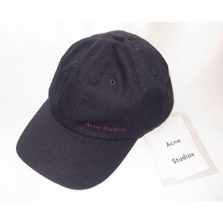 アクネ(ACNE)のacne studios アクネ cap ベースボール キャップ black(キャップ)