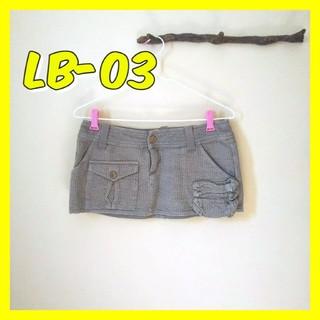 エルビーゼロスリー(LB-03)のLB-03エルビーゼロスリー ミニスカート レディースボトムスB-girl(ミニスカート)