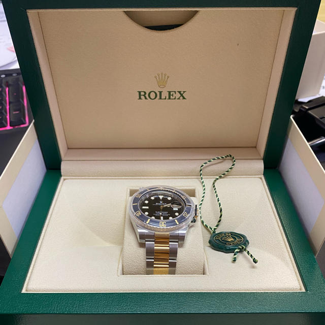 ROLEX(ロレックス)のサーブマリナー 黒金 メンズの時計(腕時計(アナログ))の商品写真