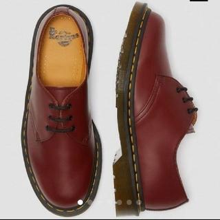ドクターマーチン(Dr.Martens)のドクターマーチン 3ホール UK3 22cm チェリーレッド(ローファー/革靴)