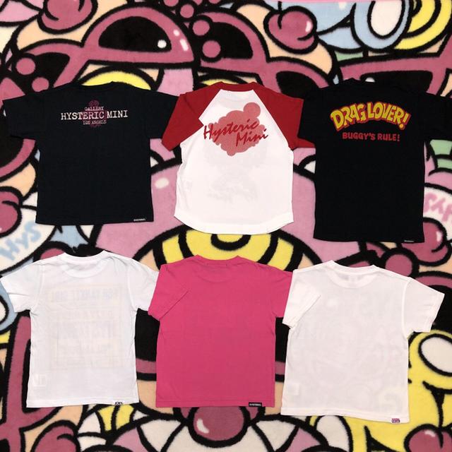 HYSTERIC MINI(ヒステリックミニ)の(100)Tシャツ キッズ/ベビー/マタニティのキッズ服女の子用(90cm~)(Tシャツ/カットソー)の商品写真