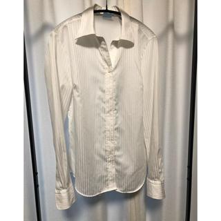 スーツカンパニー(THE SUIT COMPANY)のザスーツカンパニー 白シャツ ワイシャツ(シャツ/ブラウス(長袖/七分))