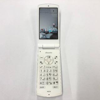 エヌイーシー(NEC)のdocomo N-01G ホワイト(携帯電話本体)